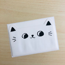 Load image into Gallery viewer, Cat Ears Adhesive Pockets - White