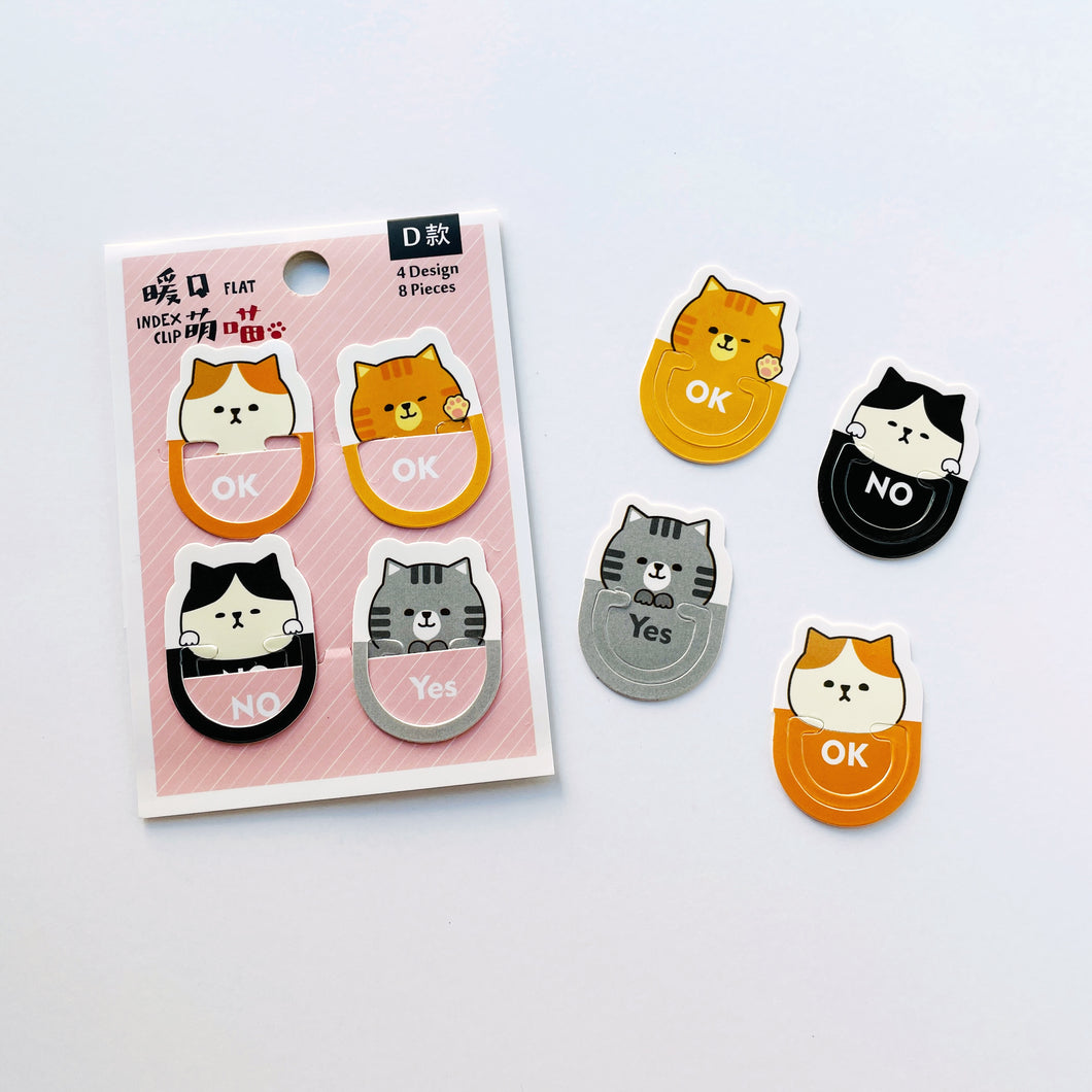 Cat Face Bookmark