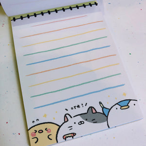 Cute Zoo Notepad - Artist