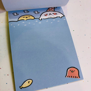 Cute Zoo Notepad - Sending Love