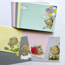Load image into Gallery viewer, Dear Little Bear Balloon Note Paper