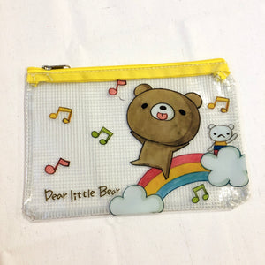 Dear Little Bear Rainbow Zipper Pouch