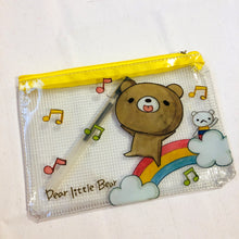 Load image into Gallery viewer, Dear Little Bear Rainbow Zipper Pouch