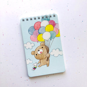 Dear Little Bear Spiral Notebook