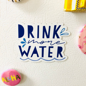 SRS1027 - Drink More Water Magnet