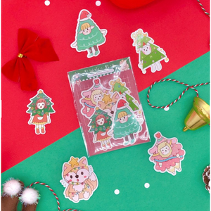 F1014 - Sweet Secrets - Christmas Trees *waterproof