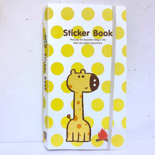 Giraffe Sticker Album