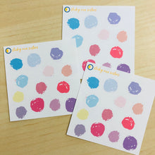 Load image into Gallery viewer, SRS1026 - Polka Dots Sticker Sheet