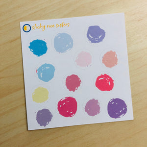 SRS1026 - Polka Dots Sticker Sheet