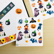 Load image into Gallery viewer, SRS1031 - Halloween Sticker Sheet