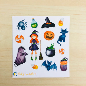 SRS1031 - Halloween Sticker Sheet