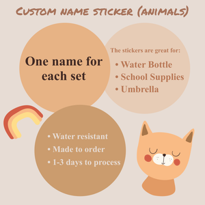 Personalized Name Stickers