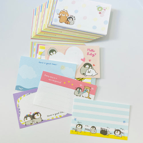 Little Penguin Po Chan Note Card