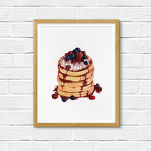Load image into Gallery viewer, Mandie - Berry Pancakes *print