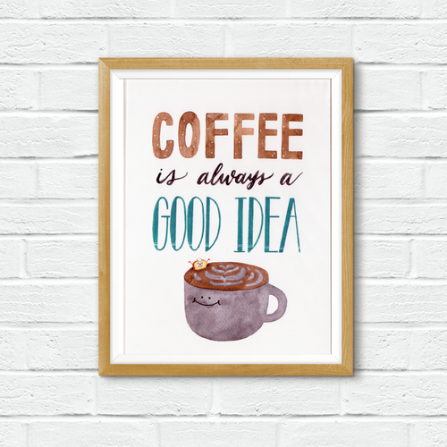 Mandie - Coffee Love *print