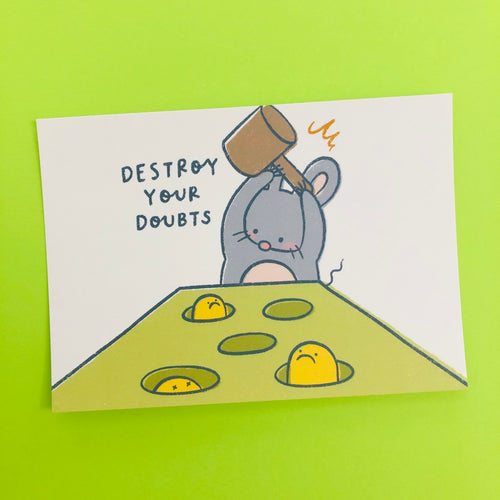 Mandie - Destroy Your Doubts *postcard