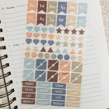 Load image into Gallery viewer, S1194 - Functional Planner Stickers - Labels and Arrows