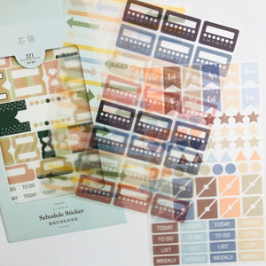 S1194 - Functional Planner Stickers - Labels and Arrows