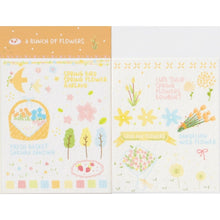Load image into Gallery viewer, S1218 - Flowers *washi paper