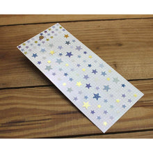 Load image into Gallery viewer, S1286 - Purple Stars *gold foil