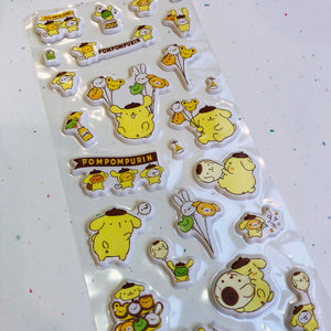 S1338 - Pompompurin - Puffy Stickers