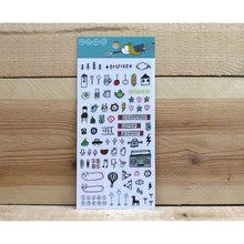 Load image into Gallery viewer, S1031 - Super Hero Bear Planner Sticker