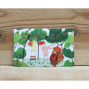 CS1003 - Mia - Forest Friends Sticker *card size