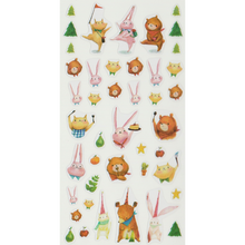 Load image into Gallery viewer, S1071 - Mia - Forest Friends Planner Sticker