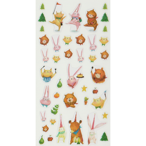 S1071 - Mia - Forest Friends Planner Sticker