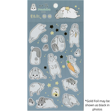 Load image into Gallery viewer, S1073 - Machiko Bunny - Night Sky (Gold Foil)