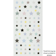 Load image into Gallery viewer, S1093 - Stars (Gold Foil)