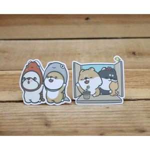F1005 - Hi John! - Friends *waterproof stickers