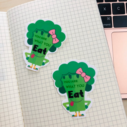 SRS1030 - Broccoli Waterproof Sticker