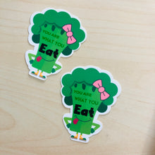 Load image into Gallery viewer, SRS1030 - Broccoli Waterproof Sticker