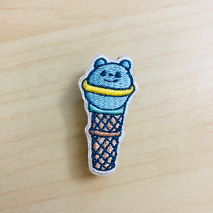 Sweet Secrets - Bear Planet Embroidery Pin