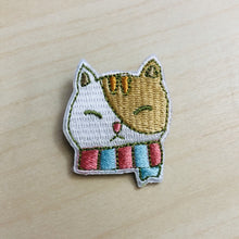 Load image into Gallery viewer, Sweet Secrets - Kitty with Scarf Embroidery Pin