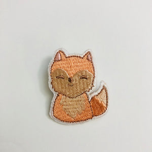 Sweet Secrets - Summer Fox Embroidery Pin