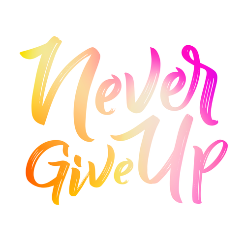 Never Give Up - Digital