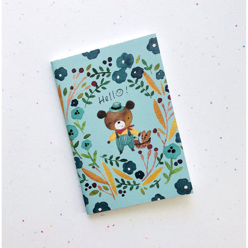 Watercolor Bear Pocket Notebook