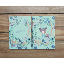 Load image into Gallery viewer, Watercolor Bear Pocket Notebook