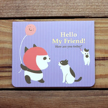 Load image into Gallery viewer, M1009 - Hello My Friend *mini card