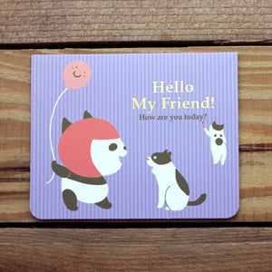 M1009 - Hello My Friend *mini card