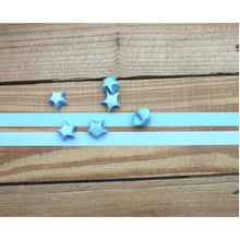 Load image into Gallery viewer, Turquoise Star Origami Paper *bigger star