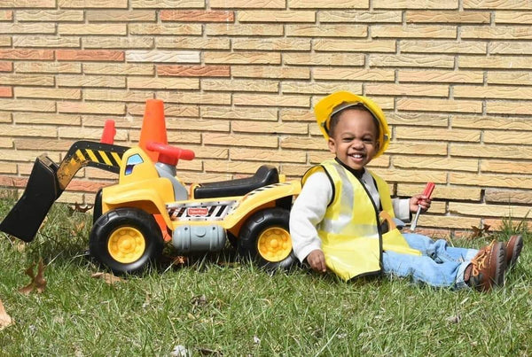 Construction Birthday Photo Shoot