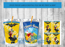 Load image into Gallery viewer, Juice Pouch Labels Birthday or Baby Shower - Digital ONLY (Please Read Item Description)