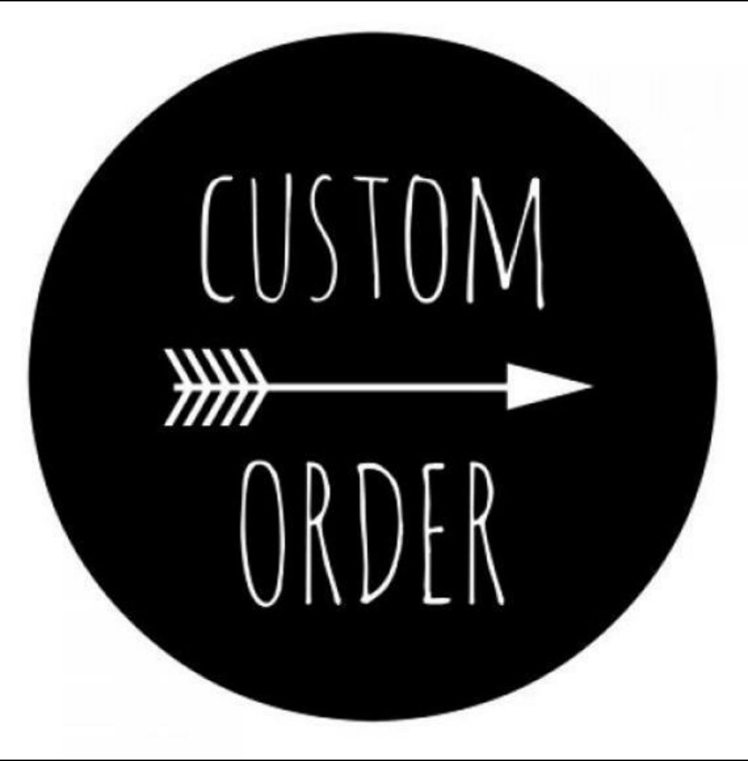 Custom Order for Madison Black
