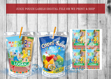 Load image into Gallery viewer, Sesame Street Juice Pouch Labels
