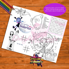 Load image into Gallery viewer, Vampirina Activity Sheet
