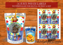 Load image into Gallery viewer, Daniel Tiger Juice Pouch Labels