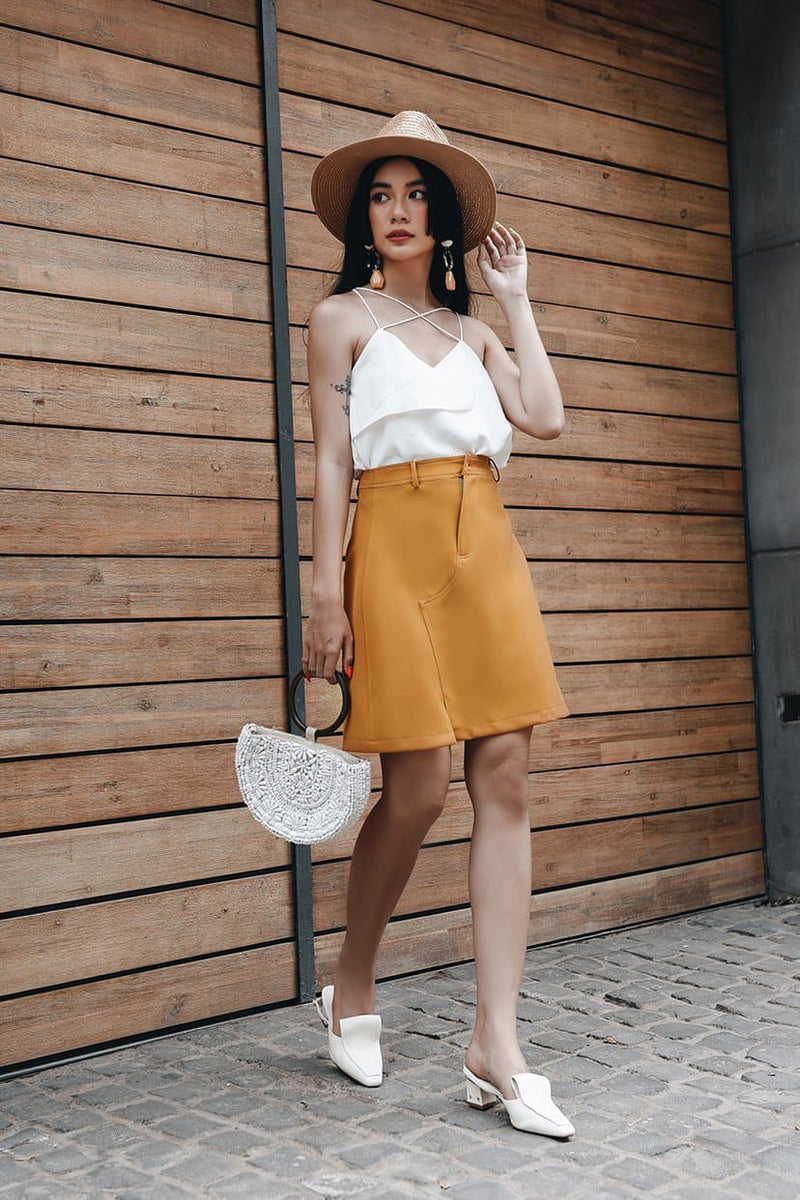 Clay Mini Skirt